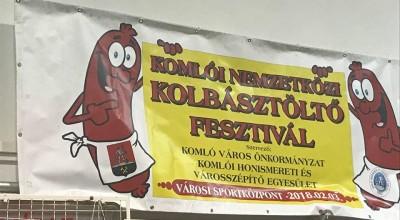 Komlói kolbásztöltő fesztivál