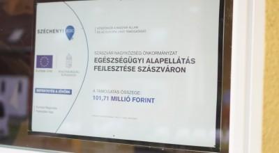 Megújult a háziorvosi rendelő Szászváron
