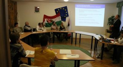 Komlón tájékoztattak a Paktum projektről