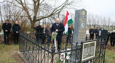 I.világháborús sírokat újítottak fel Harkány-Terehegyen