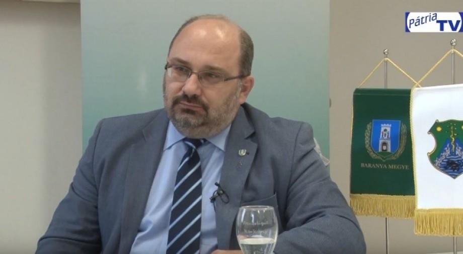 Évértékelő Nagy Csaba a Baranya Megyei közgyűlés elnökével