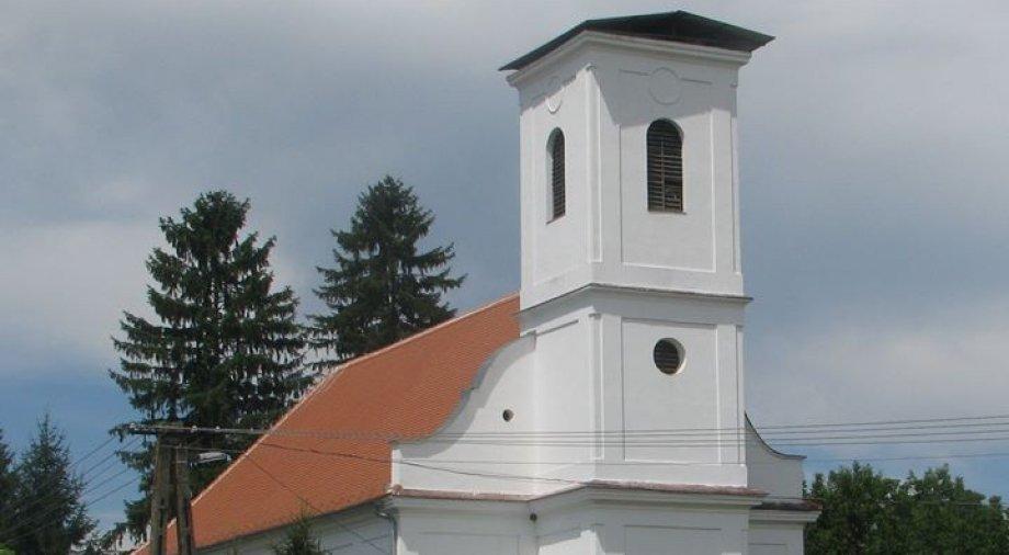 Zaláta templomfelújítás