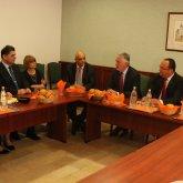 Horvát nagykövet látogatása