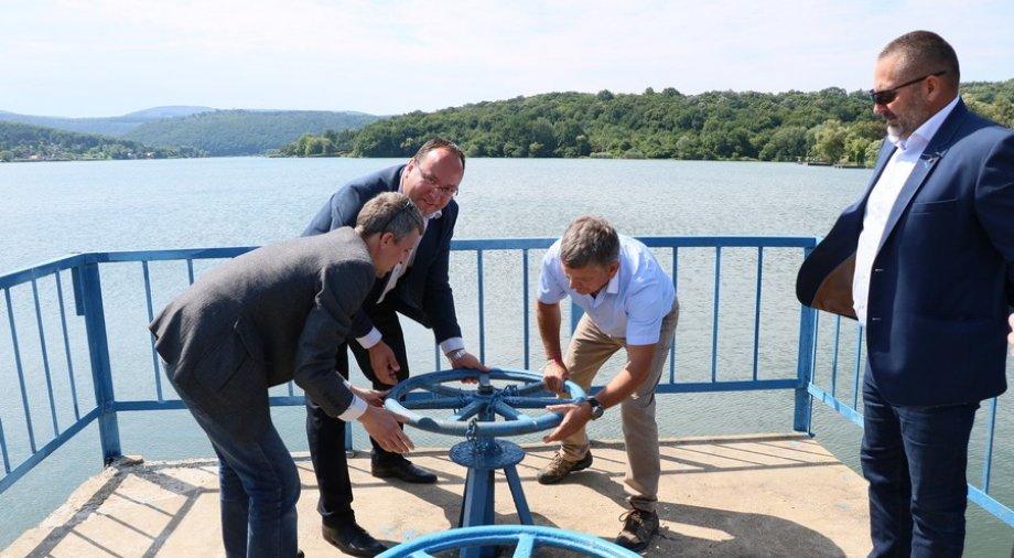 Megújult a Pécsi-tó zsiliprendszere