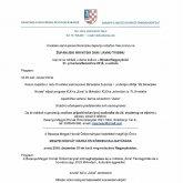A Baranya Megye Horvát Önkormányzat Meghívója