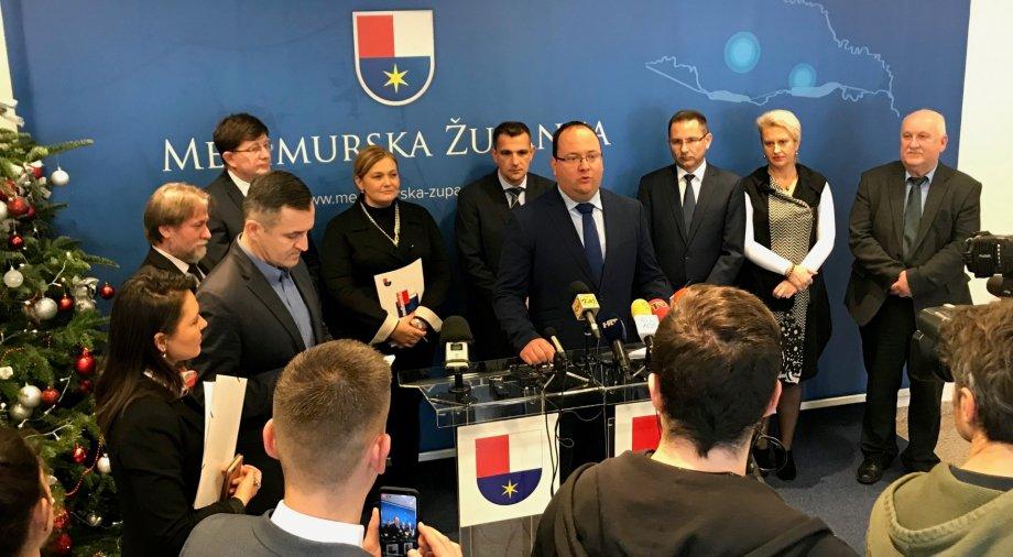 Horvát-magyar határmenti megyék találkozója - Döntés született a Pannon ETT-ben történő együttműködésről
