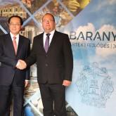 Üzleti kerekasztal - Baranyai és Zheijang-i üzletemberek találkoztak Pécsett