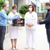 A Szívgógyászati Klinika ápolóit köszöntötte Őri László