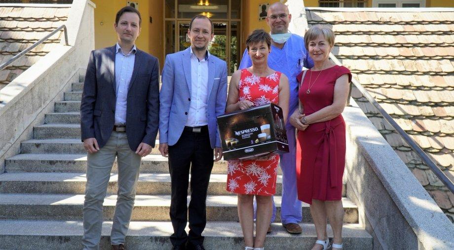 Őri László: köszönettel tartozunk az egészségügyi dolgozók áldozatos munkájáért
