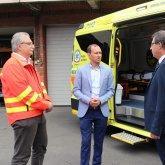 Két új mentőautó állt szolgálatba Baranyában