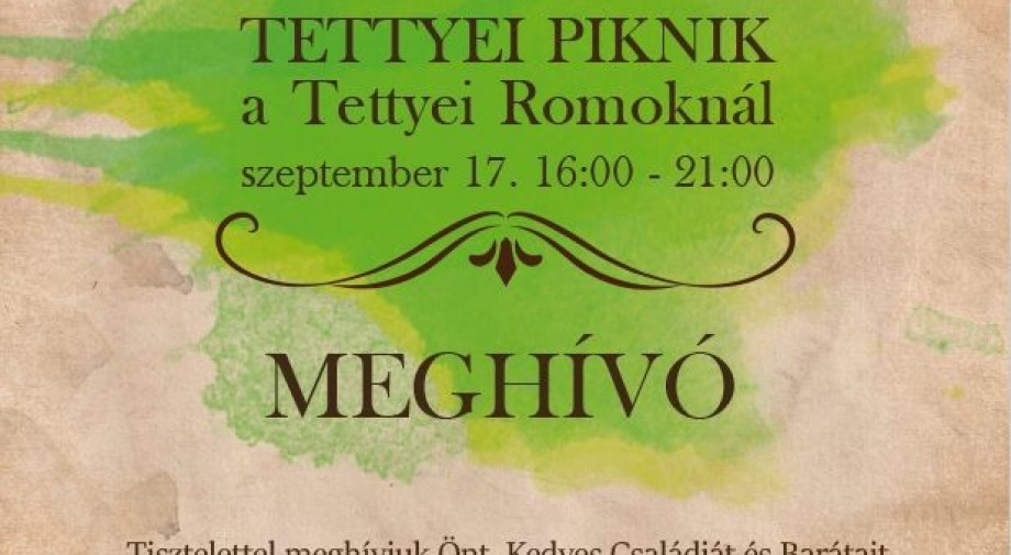 Idén is megrendezzük a pécsi családok ünnepét, a Tettyei Pikniket.