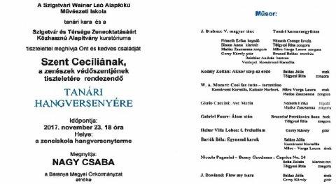 Tanári Hangverseny Szigetvár